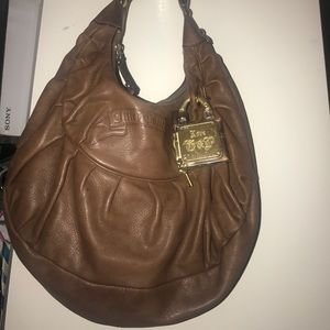 Brown Leather Juicy Couture Purse